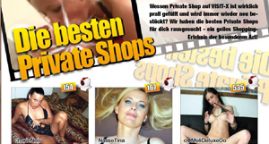 Stöbere in den Private-Shops auf den Profilen der Camgirls